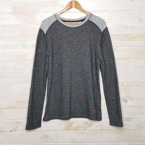 Tommy Bahama Sweatshirt 100% Cotton Crew Neck Gray